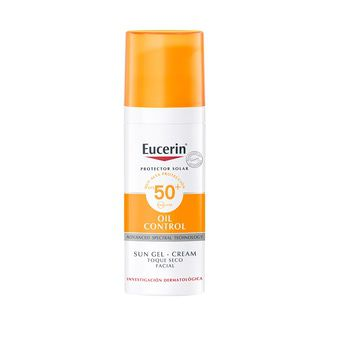 Protector Solar Eucerin Gel Crema Oil Control Toque Seco Spf 50+ 50ml