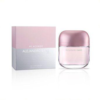 Perfume Importado Mujer Alejandro Sanz Mi Acorde Ella 100ml