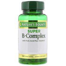 Natures Bounty Super B-Complex x 60 Tab