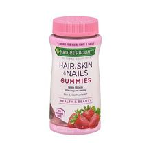 Natures Bounty Optimal Solut Hair Skin&Nails X 80 Gummies