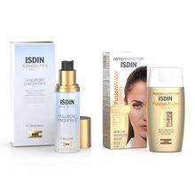 Kit Facial Isdin Hyaluronic Concentrate + Fusion Water Urban
