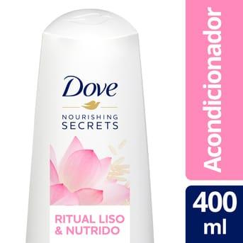 Acondicionador Dove Nutritive Secrets Ritual Liso y Nutrido 400ml