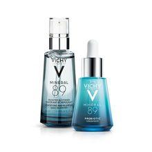 Kit Facial Vichy Mineral 89 Booster + Mineral 89 Probiotic