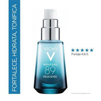 Kit Facial Vichy Mineral 89 Booster + Probiotic + Ojos