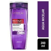 L'Oréal Paris Revitalift Agua Micelar Ácido Hialurónico 200ml
