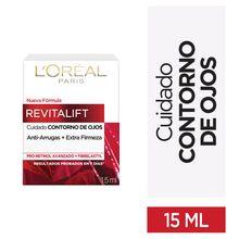 Crema Contorno de Ojos L'Oréal Paris Revitalift Antiarrugas 15ml