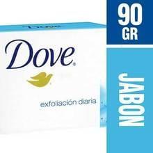 Jabón Pastilla Individual Dove Exfoliante 90g
