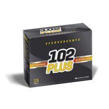 102 Plus Vitaminas Minerales 15 Sobres Efervecente