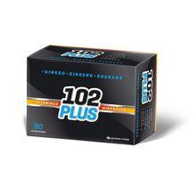 102 Plus Vitaminas Minerales Ginko Ginseng Guarana 90 Comp