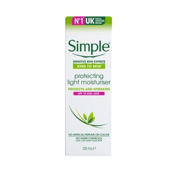 Simple Protecting Light Moisturizer Fps15 125ml