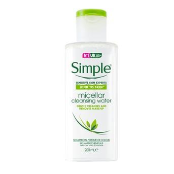 Agua Micelar Simple Micellar Cleansign Water 200ml