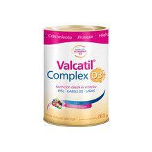 Valcatil Complex D3 Nutrición Piel Cabellos Uñas Lata 260g