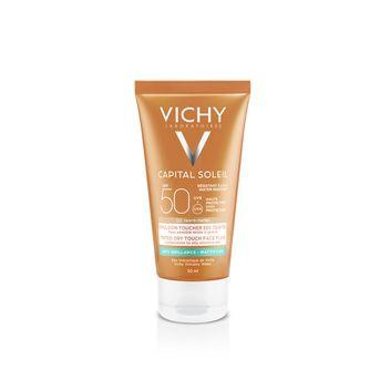 Crema Rostro Vichy Capital Soleil Fps 50 Toque Seco 50ml