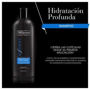 Shampoo TRESemmé Hidratación Profunda 400ml