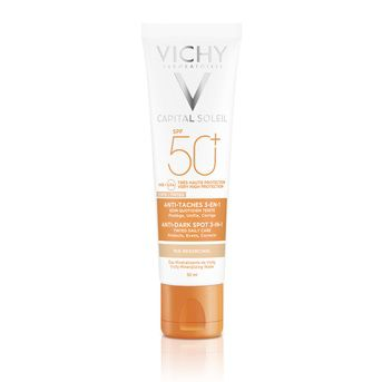 Protector Solar Anti Manchas Vichy Capital Soleil Fps 50+ 3 en 1 50ml