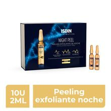 Ampollas Isdin Isdinceutics Night Peel Exfoliante Noche 10 Ampollas