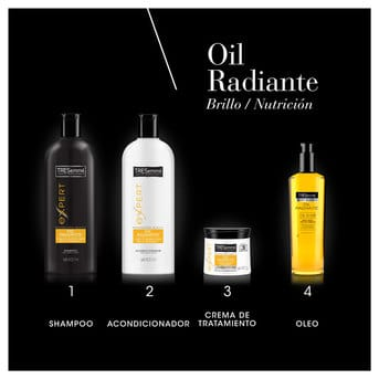 Shampoo TRESemmé Oil Radiante 400ml
