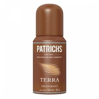 Desodorante Patrichs Terra 150ml
