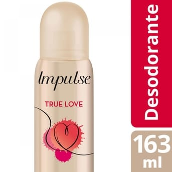 Desodorante Impulse True Love 107g