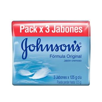 Jabón Adulto Johnson's Original 125g x 3un
