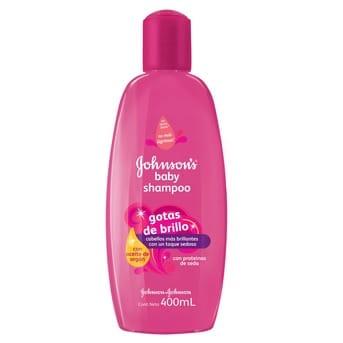 Shampoo Niños Johnson's Baby Gotas de Brillo 400ml