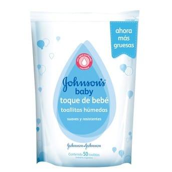 Toallitas Húmedas Johnson's Baby Toque de Bebé 50un