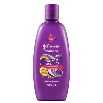 Shampoo Johnson's Fuerza y Vitaminas 400ml
