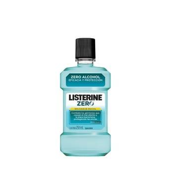 Enjuague Bucal Listerine Zero Menta Suave 250ml