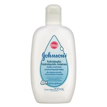 Crema hidratante bebé JOHNSON'S Hidratación Intensa 200ml