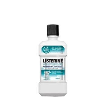 Enjuague Bucal Listerine Whitening Blanquea y Fortalece 236ml