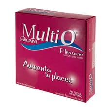 Gel Lubricante Íntimo Femenino Multi-O Pleasure 20g