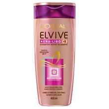 Shampoo Elvive Kera-Liso 230° 400ml