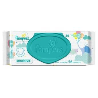 2 packs de pampers sensitive toallitas humedas x 56 unidades d nq np 812044 mla27912925851 082018 f