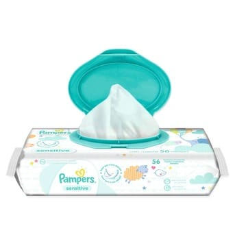 2 packs de pampers sensitive toallitas humedas x 56 unidades d nq np 685478 mla27912925852 082018 f