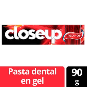 Gel Dental Close Up Red Hot 90g