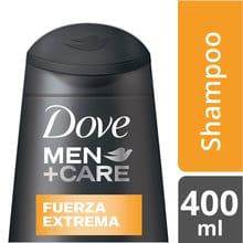 Shampoo 2 en 1 Dove Men+Care Fuerza Extrema 400ml
