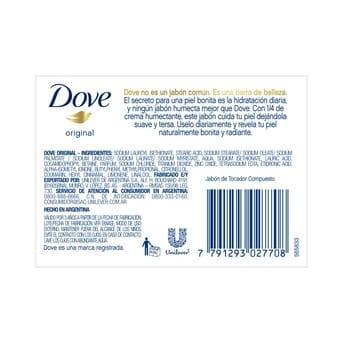 Jabón Pastilla Dove Original Multipack 6un 90Gr c/u