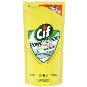 Limpiador Líquido Cocina Power Cream 450 ml