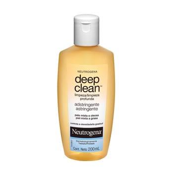 Loción Neutrogena Deep Clean Astringente 200ml