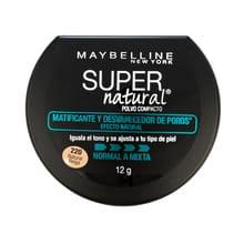Super Natural Polvo Compacto Piel Normal A Mixta 12g