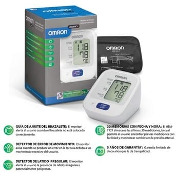 Tensiometro Digital Automático HEM-7121  Brazo