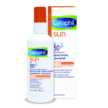 Sun Spray Loción Facial/ Corporal Cetaphil Fps30 150ml