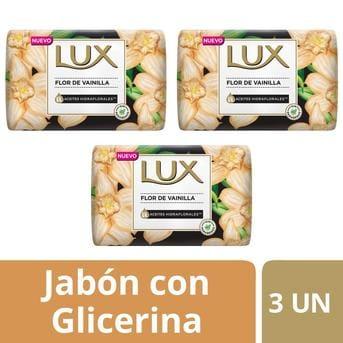 Jabón Lux Flor de Vainilla 90g x 3un