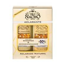 Monoestuche Tio Nacho Aclarante Shampoo + Acond 415ml