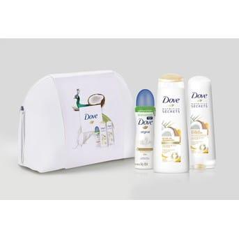 Pack Gifting Dove Shampoo y Acondicionador + Necessaire de Regalo