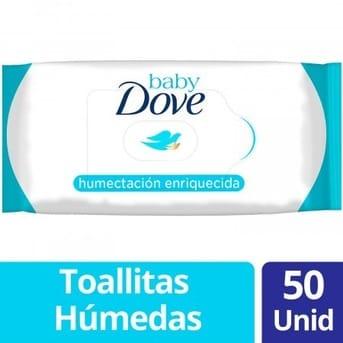 Toallitas Húmedas Dove Humectación Enriquecida 50un