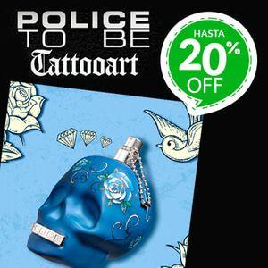 Police tatto 20off